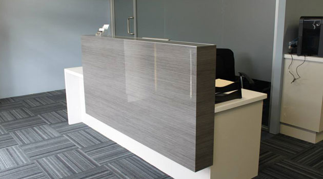 reception desk perth