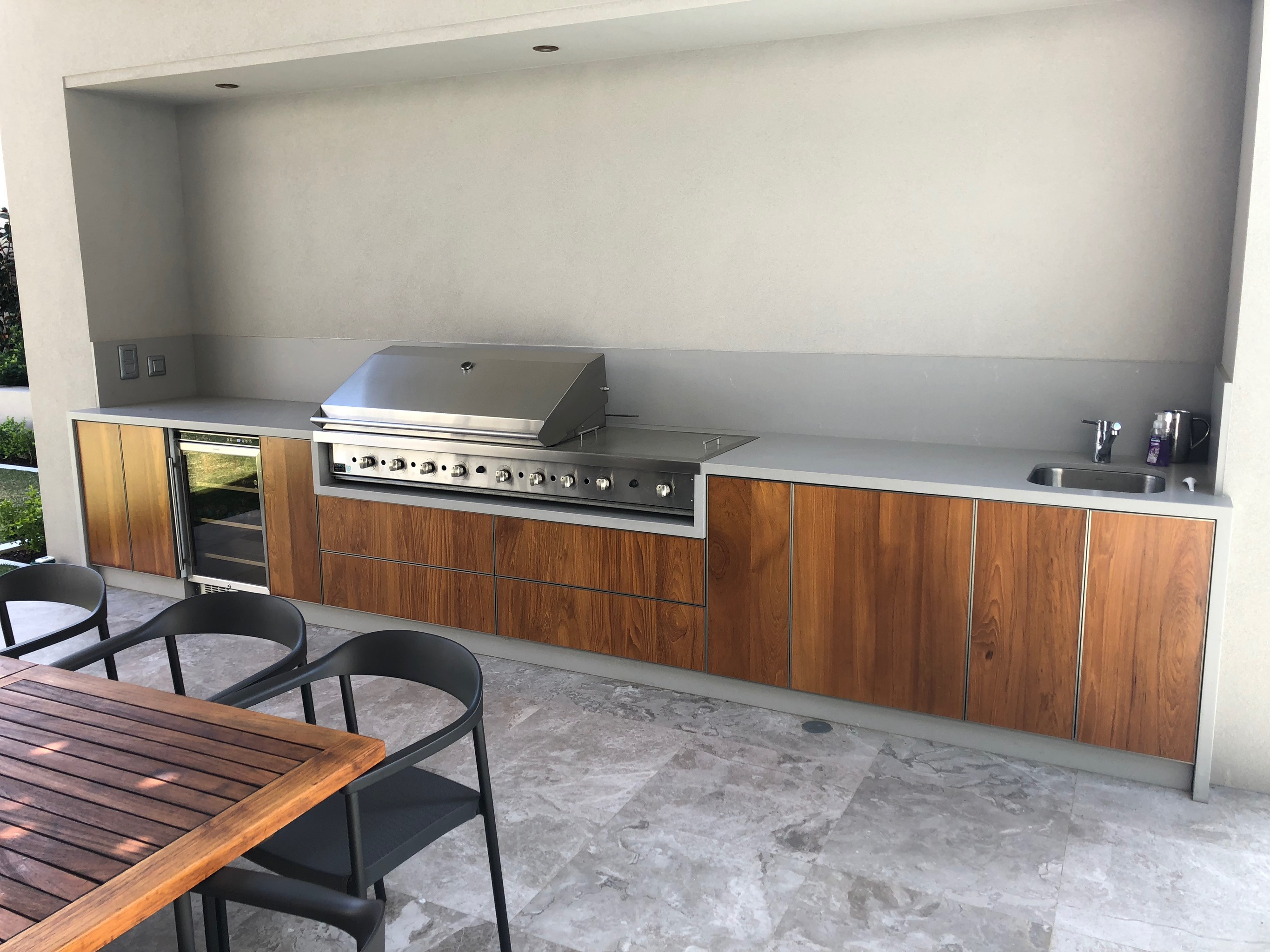 outdoor kitchen perth | Master Class Cabinets